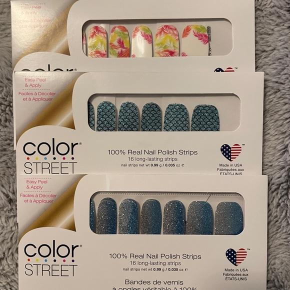 3 pack bundle Color Street